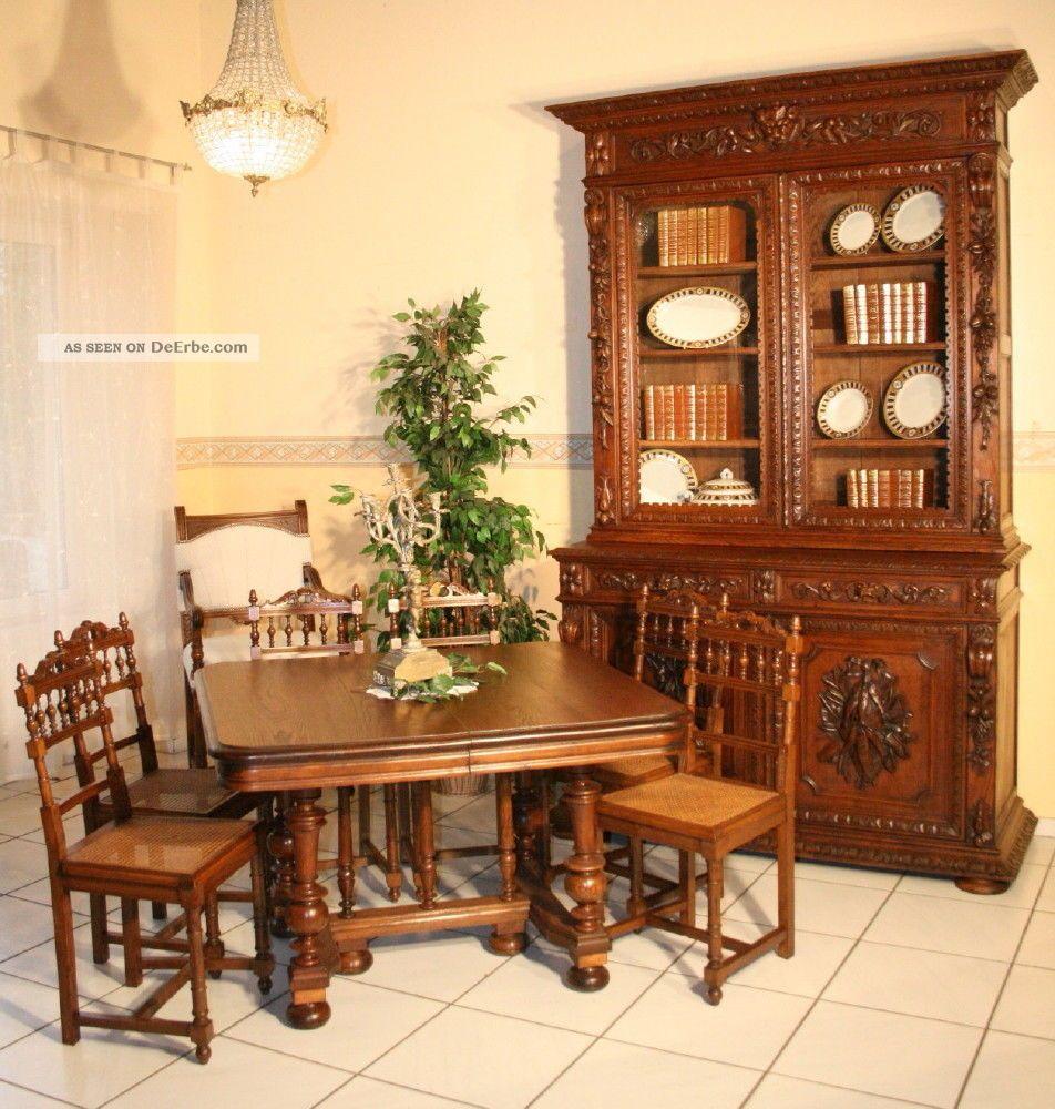 6 elegante st hle mit krone auf der lehne um 1880 in nussbaum. Black Bedroom Furniture Sets. Home Design Ideas
