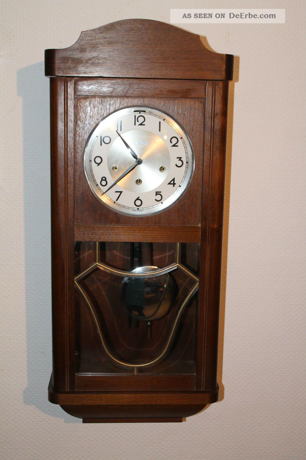 Antike wanduhr regulator pendeluhr mit westminster schlag - Wanduhr mit eigenem bild ...