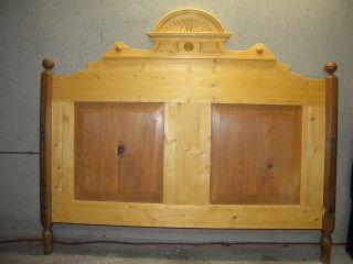 Bett Bauernbett Bettgestell Bett Antik 160x200 Cm Liegefläche Bild