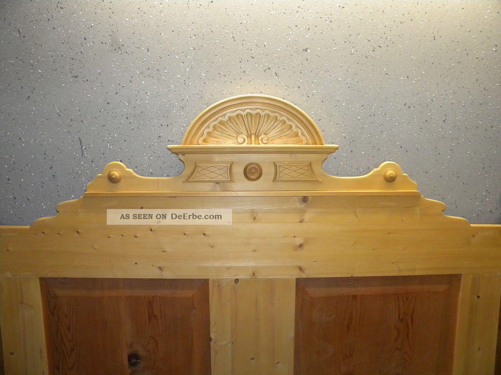 Bett bauernbett bettgestell bett antik 160x200 cm liegefl che - Antike betten ...