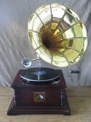 His Masters Voice Trichter - Grammophon Bild