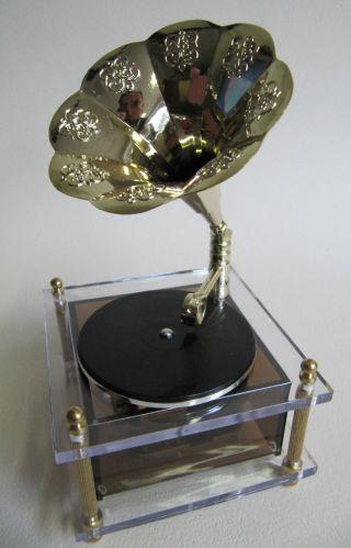 Wunderschöne Spieluhr,  Spieldose: Grammophon,  Melodie My Way, Bild