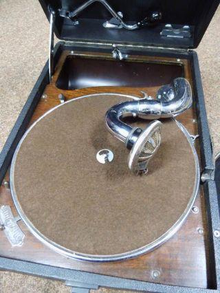 Koffergrammophon Marke Electrola,  Modell 102,  Sehr Schöner Bild