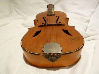 Interessante,  ältere Mandoline - Gitare (???) Marke GÖtz - Größe 340 Mm Bild