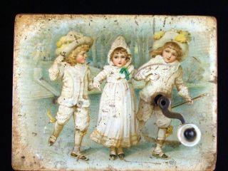 Alte Spieldose Um 1900 Mit 2 Melodien,  Funktioniert Bild