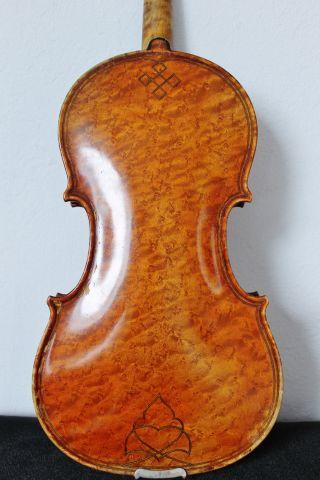 Feine Alte Aussergewöhnliche Violine Old Violin Nur 5 Tage Bild