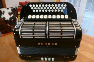 Hohner Morino Club Diatonisches Akkordeon Mit Cassotto Bild
