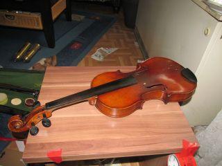 Alte Geige Karl Niedt WÜrzburg Bild