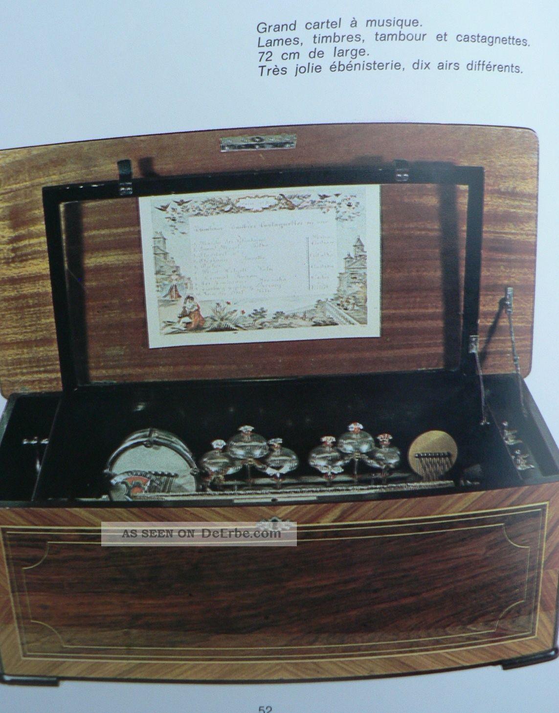 les automates buch ber figurenautomaten und spieldosen. Black Bedroom Furniture Sets. Home Design Ideas