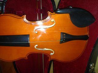 Geige Kindergeige Im Geigenkasten Violine 4/4 Ab 11 - 12 Jahre Bild