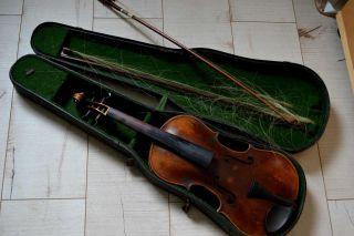 Stainer Geige Antik Um 1900 Mit Geigenkasten Bild
