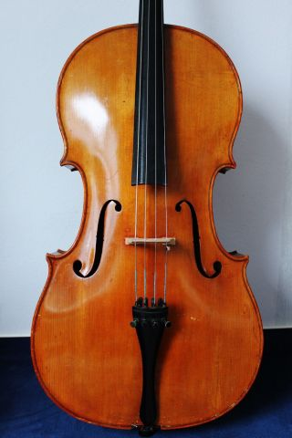 Feines Altes Meister - Cello 4/4 Old Cello Nur 5tage Bild