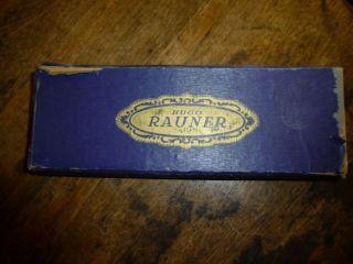 Alte Mundharmonika Von Hugo Rauner - Tremolo - C,  G (89 - 12) Bild