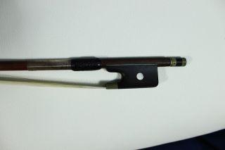 Feiner Uralter Bratschenbogen M.  Brandstempel Old Bow Nur 5 Tage Bild