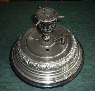 Christbaumständer Antik - Mit Spieluhr - 2 Melodien - Drehbar - Um 1900 Bild