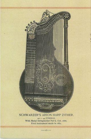 Zither,  Cithare,  : Aus Alten Katalogen & 83 Zithern Patente Auf Bild