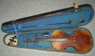 Alte Geige Bild
