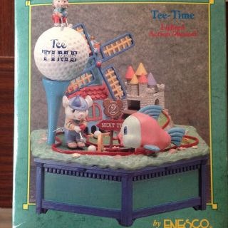 Enesco Spieluhr Tea Time Mit Kleinen Mäusen Bild