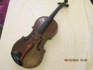Uralte Geige Violine Mit Zettel - Paolo Maggini - Rarität - Schauen Sie Bild
