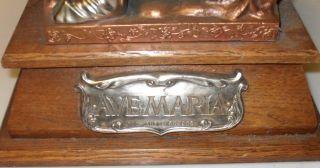 Tischaltar Mit Spieluhr,  Heilige Maria