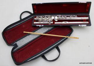Pearl Querflöte Tasche Bezeichnet Pearl Flute Musical Instrument Co Pf - 501 14878 Bild