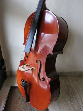 Josef Jan J.  J.  Dvorak Professional Cello 4/4 Hand Crafted By Cremona Bild