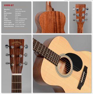 Sigma Guitars - Gitarre Omm - St 2.  Wahl Workshopgitarre Z&b Mahagonikorpus Matt Bild