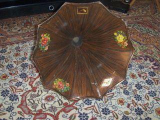 Grammophon Trichter