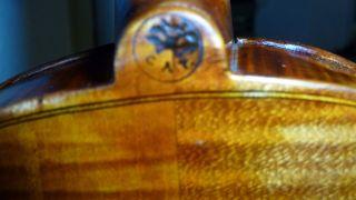 Interessante Alte 4/4 Violine / Geige Old Violin Branded C A Testore,  Milano Bild