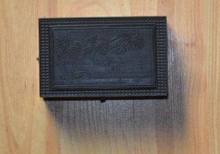 Historisches Walzenspielwerk / Spieldose,  Wohl Um 1920,  Napoleon,  St.  Helena Bild