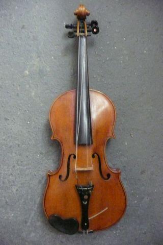 Anike Geige Aus Nachlass,  Violine Antik,  Erbstück,  Ca.  100 Jahre Alt,  Sehr Schön Bild