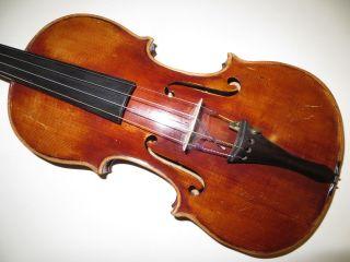 Alte - Geige - 4\4 Geige - Violine - Steg Vuillaume - Ohne Zettel - Art.  1371 Bild
