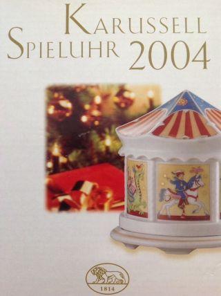 Hutschenreuther Spieluhr 2004 Bild