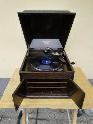 Altes Grammophon Polyphon Bild