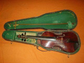 Alte Geige 4/4,  Geige,  Violine,  Alte Geige,  Antik Bild