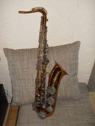 Saxophon Hohner President Mit Koffer Aus Nachlass Bild