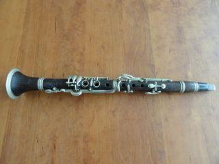 Historische Klarinette (es) Stecher Aus Privater Sammlung Bild
