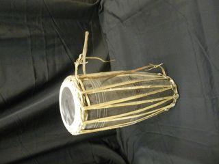 Alte Trommel Aus Indien Bild