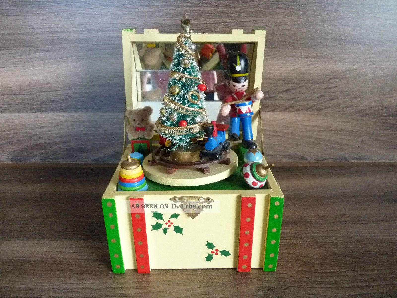 Spieluhr Weihnachten.Enesco Spieluhr Weihnachten Von 1984