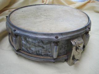 Snare Drum Vintage 1920 - 30er Jahre Jazz Trommel Sammlerstück Museal Bild