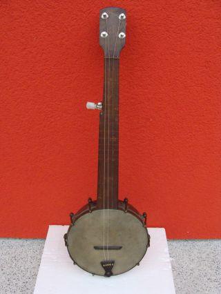 Biete Antikes Banjo Um 1900. Bild