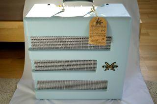 Excelsior Pro Baby Blue Fsr Gitarrenamp Pawn Shop Serie Limitierte Sonderauflage Bild