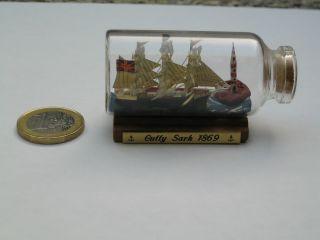 Buddelschiff Flaschenschiff Cutty Sark 1869 Bild
