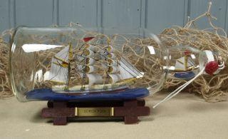 Buddelschiff Flaschenschiff
