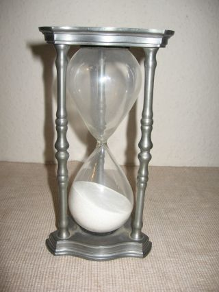 Sanduhr Eieruhr Stundenglas Stundenuhr 60 Minuten 1 Stunde Nutze Die Stunde Bild