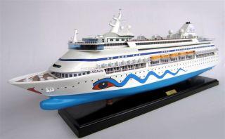 Handgefertigtes Schiffsmodell Aida Vita,  L103 Cm,  Holz Modell,  Modellschiff Bild