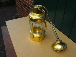 Maritime Decken - Lampe/hängelampe/hängeleuchte Aus Messing Bild