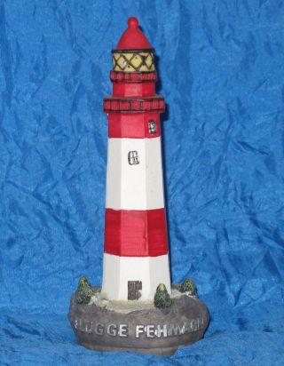 Leuchtturm Mit Licht,  Flügge Fehmarn Ostsee,  Leuchtfeuer Dekoration Turm Bild