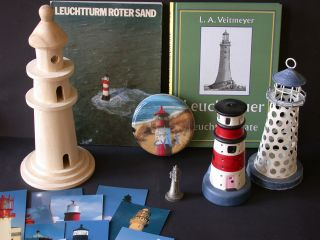 Kleines Leuchtturm - Konvolut,  Roter Sand,  Leuchttürme Bild