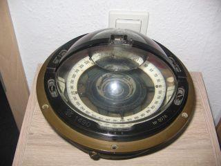 Kriegsmarine Kompass U - Boot Oder Schnellboot Kleine Form Plath Hamburg Bild